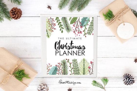 Ultimate Christmas Planner sale!
