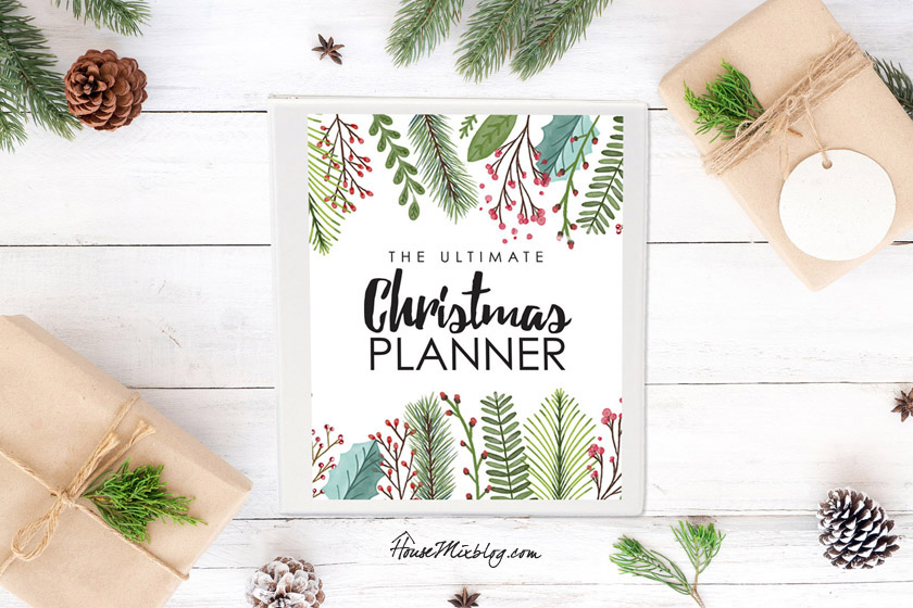 Ultimate Christmas planner- 18 pages of printables