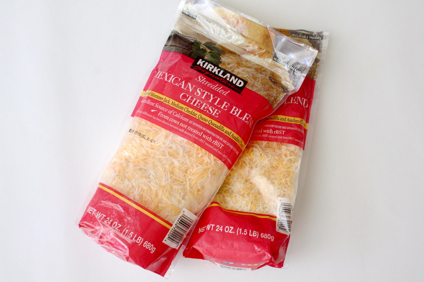 What to buy at Costco - Mexican shredded cheese