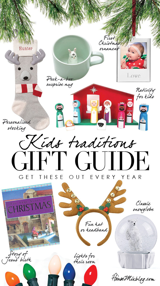 Christmas gift guide - family traditions - get these out every year with the kids