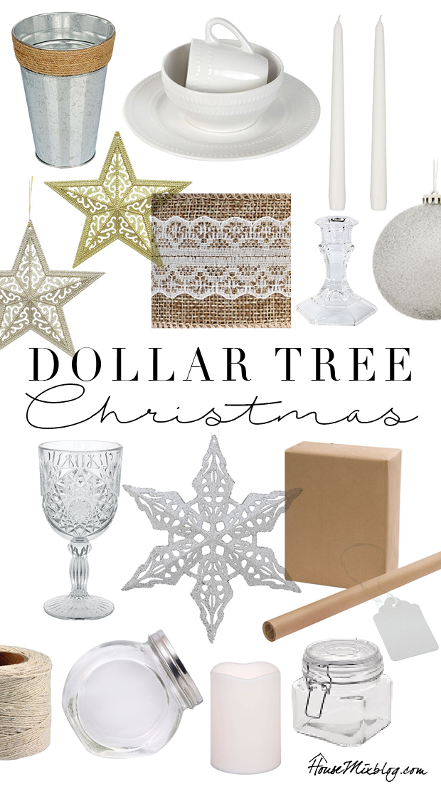 Dollar Tree Christmas decoration ideas