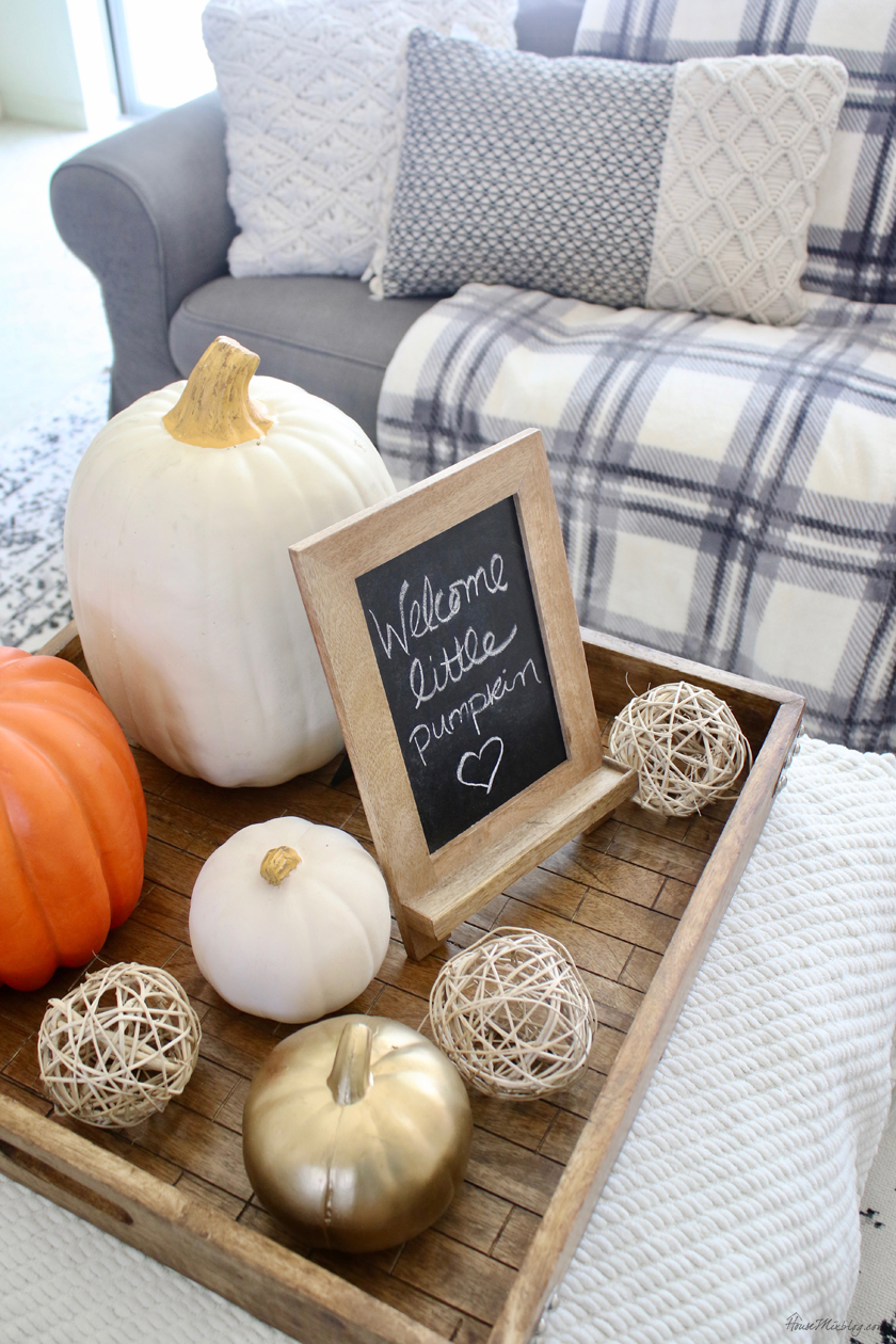 Fall baby shower decor ideas