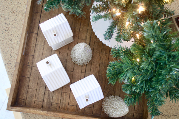 How to arrange a Christmas tray