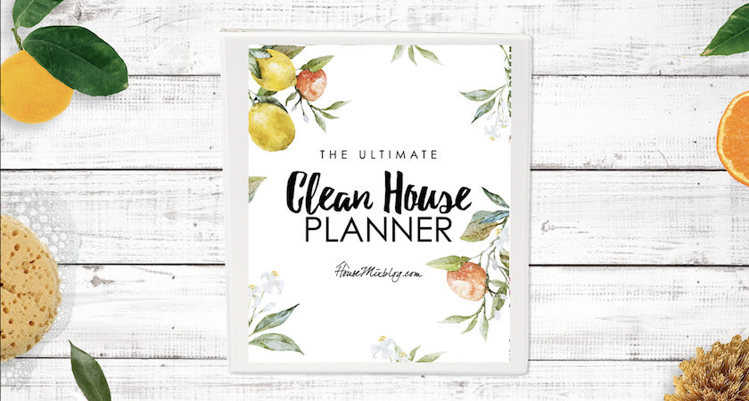 Ultimate clean house planner - horizontal