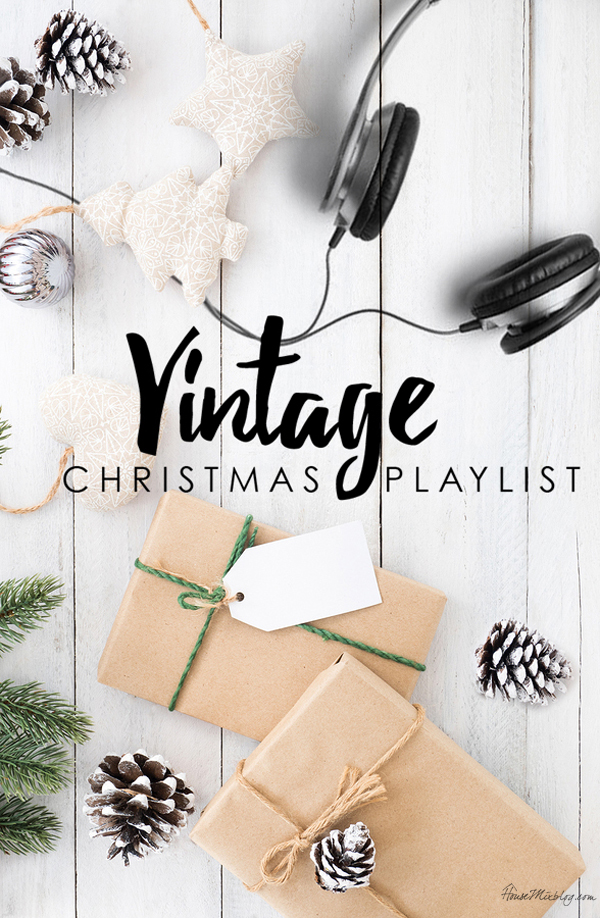 Vintage Christmas playlist on Spotify - housemixblog.com