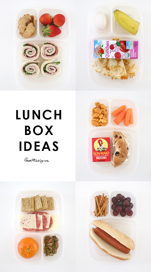Easy kid lunch box ideas