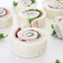 Easy kid lunch ideas - easy sandwich pinwheels kids love
