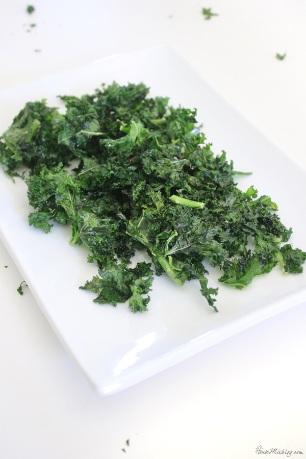 Kale chips - they really make leafy greens taste good