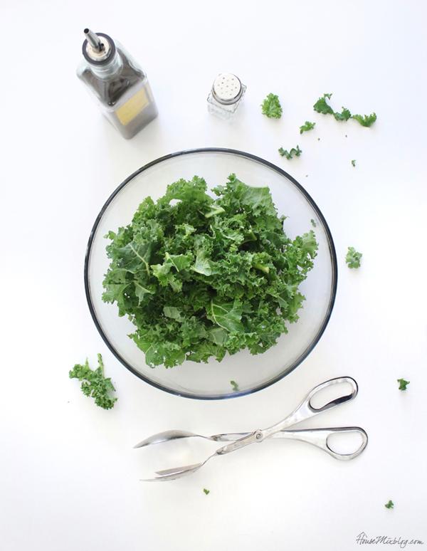 kale chips recipe - healthy snack ideas