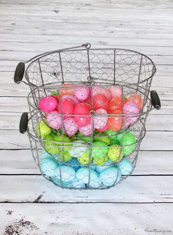 Color coded Easter egg hunt ideas