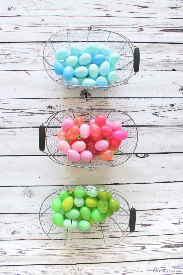 End Easter egg hunt rivalry with an assigned color