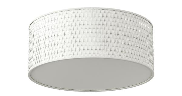 Ikea ALANG flush mount drum fixture