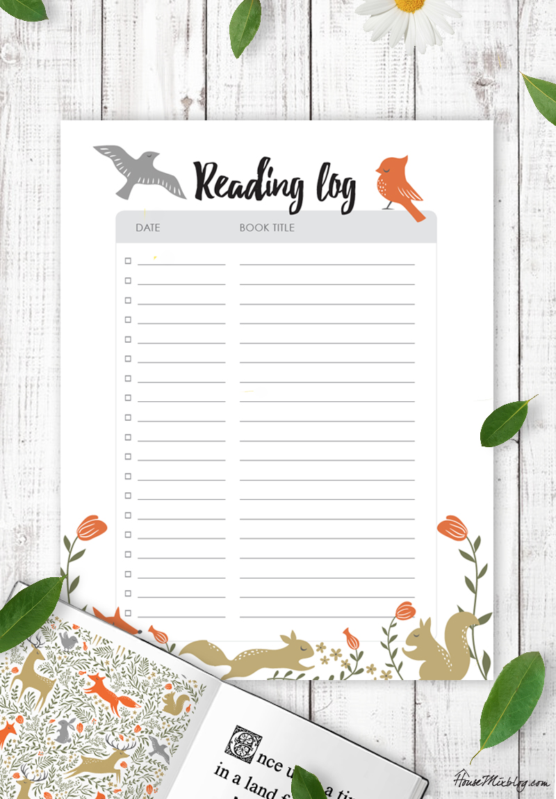 Planners – House Mix on log notebook, log pen, log buyer, log management,
