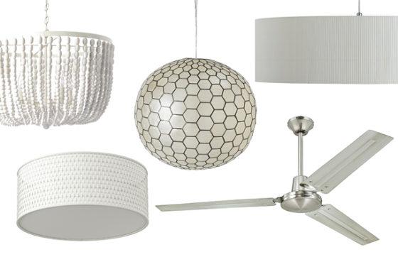 Inexpensive, simple light fixtures