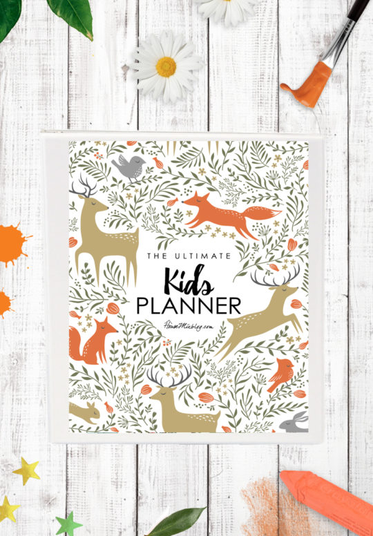 Ultimate kids planner - housemixblog.com
