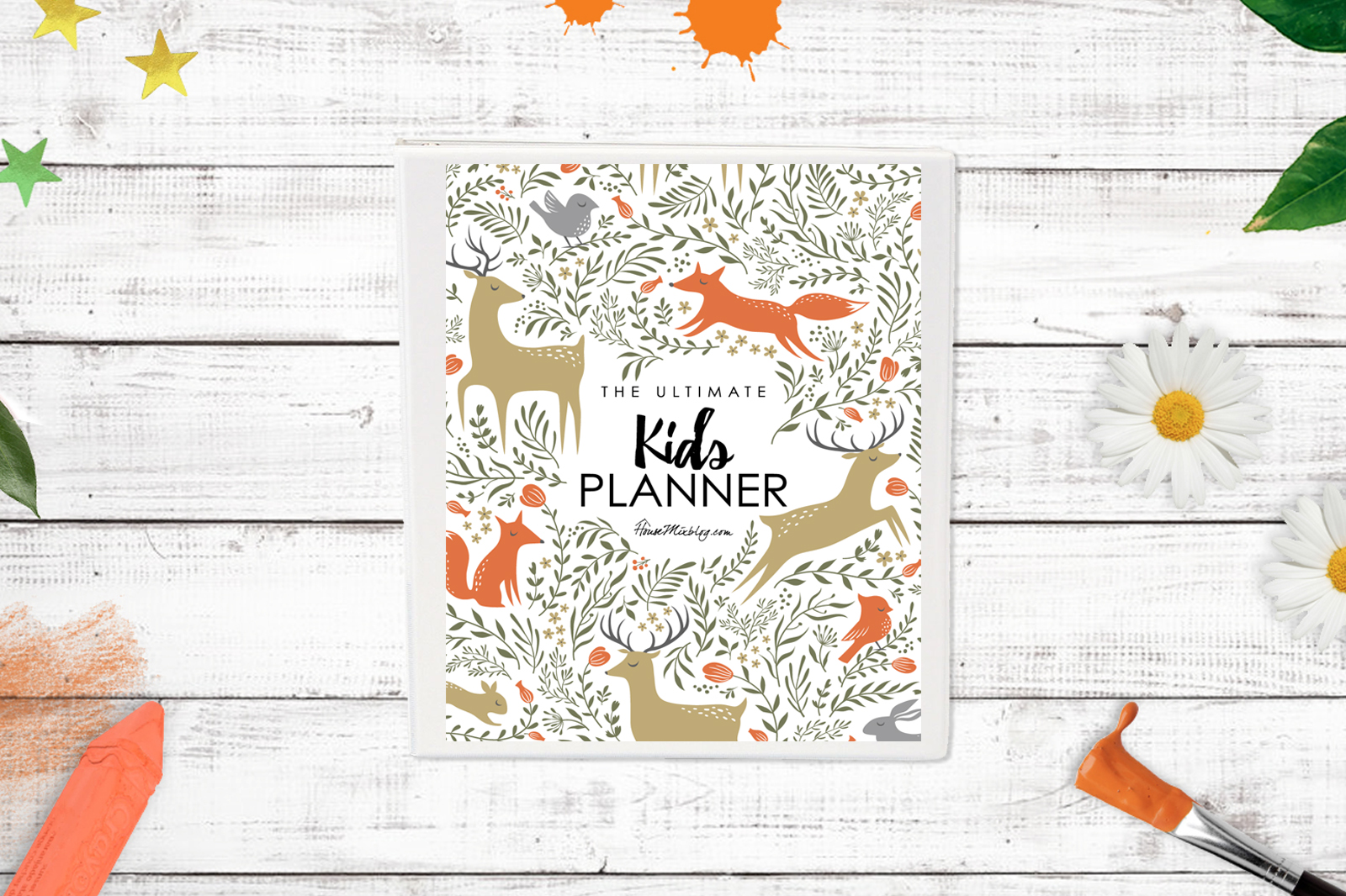 Ultimate kids planner printables - horizontal