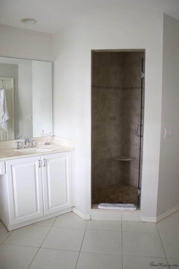 master bath shower before