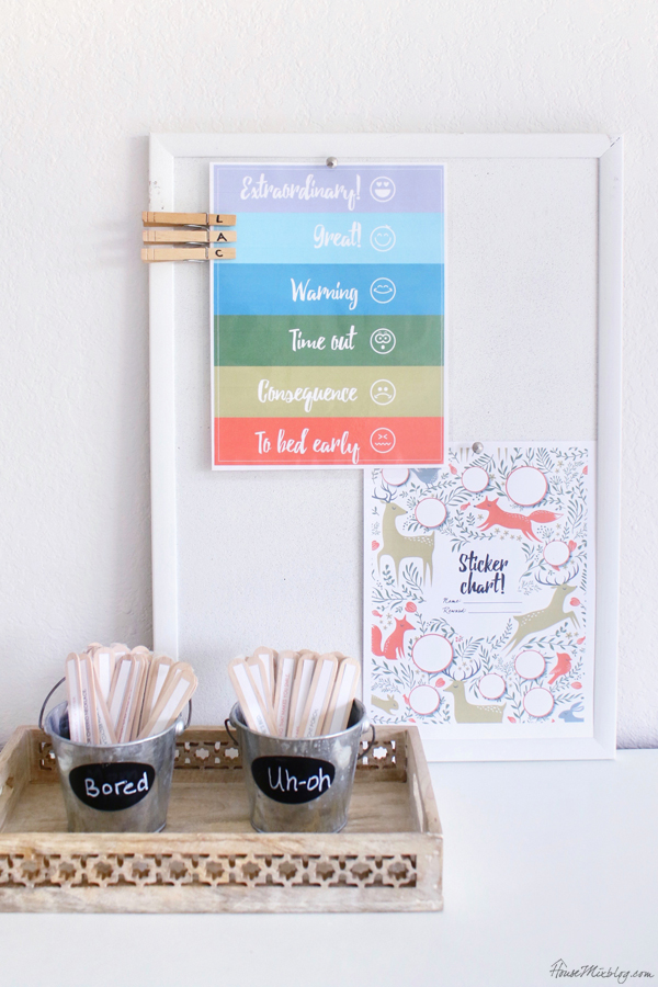 Behavior charts and jar printables FREE