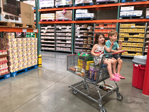 costco - Daily routine with kids and work