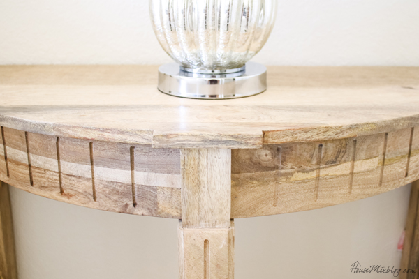 driftwood nightstand from TJ Maxx online