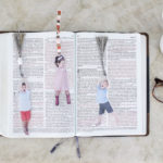 Fun float away kids bookmark