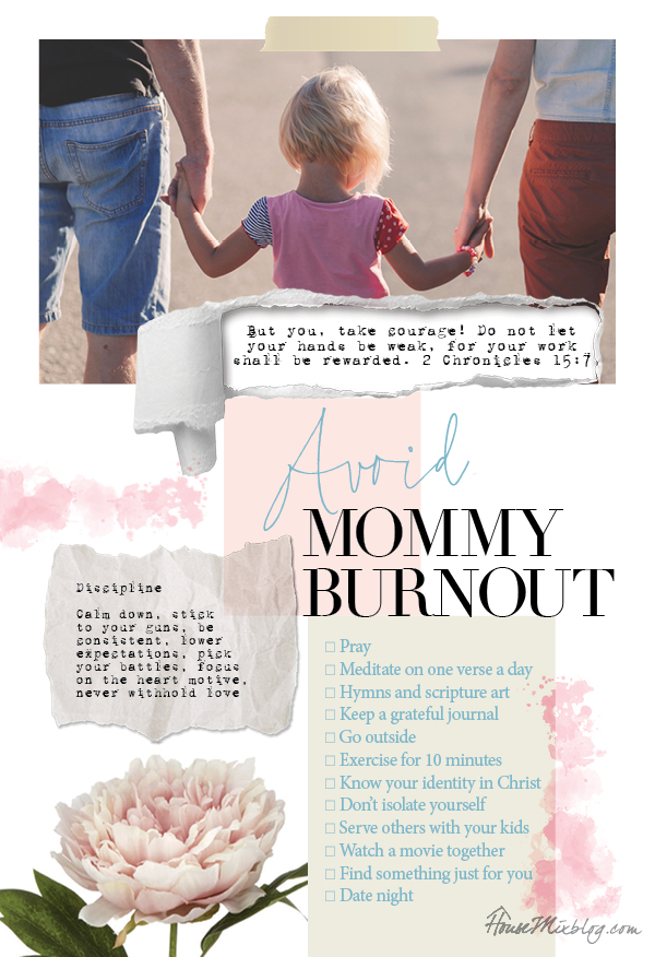 When I'm tired of being a SAHM - How to avoid mommy burnout and depression - 15 practical ideas and discipline help