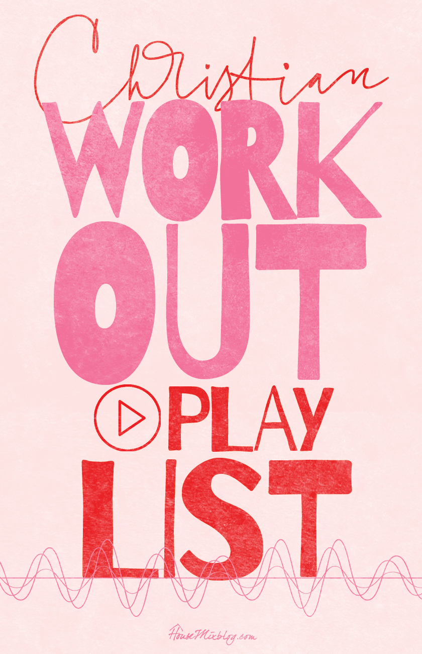 Christian workout Spotify playlist
