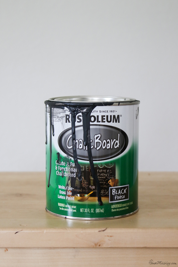 How to do a chalkboard wall for ten dollars