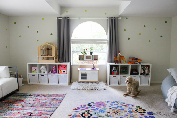 colorful playroom that kids can grow into
