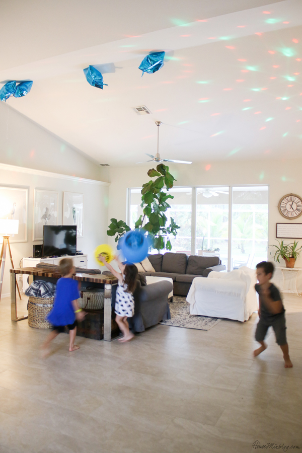 disco lights make the perfect family dance party - christian dance playlist included