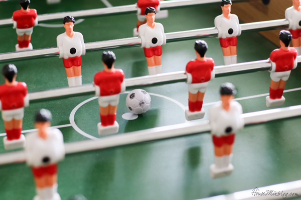 inexpensive foosball table for kids