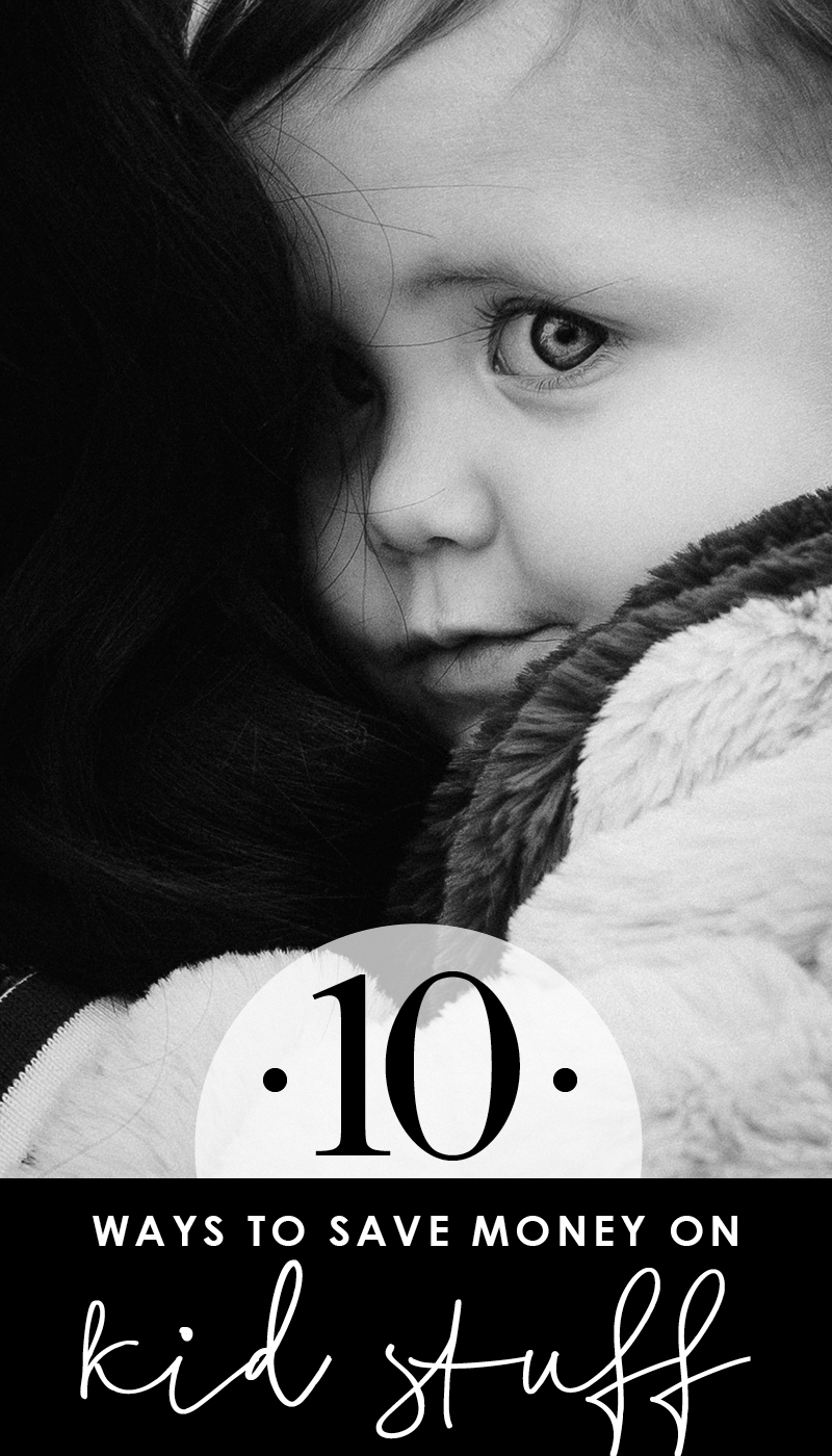 10 ways to save money on kid clothes, toys, sports equipment, diapers