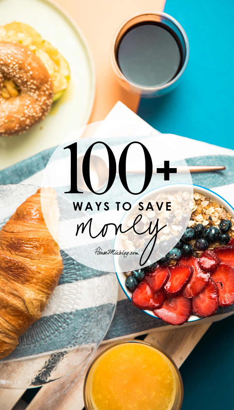 100 plus ways to save money - a comprehensive list on how to start living frugally2