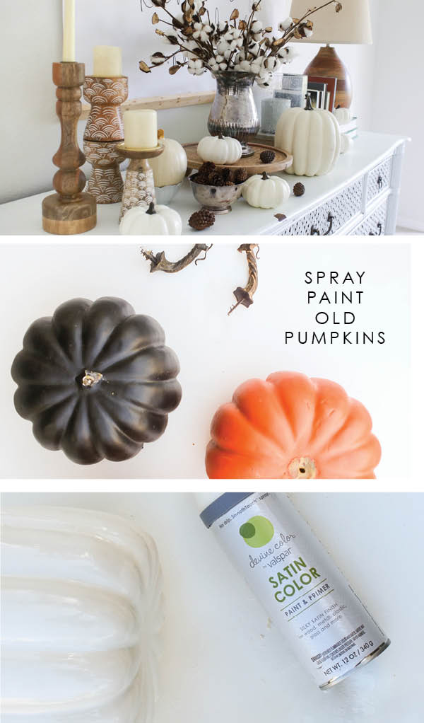 DIY fall decor ideas - budget fall decor