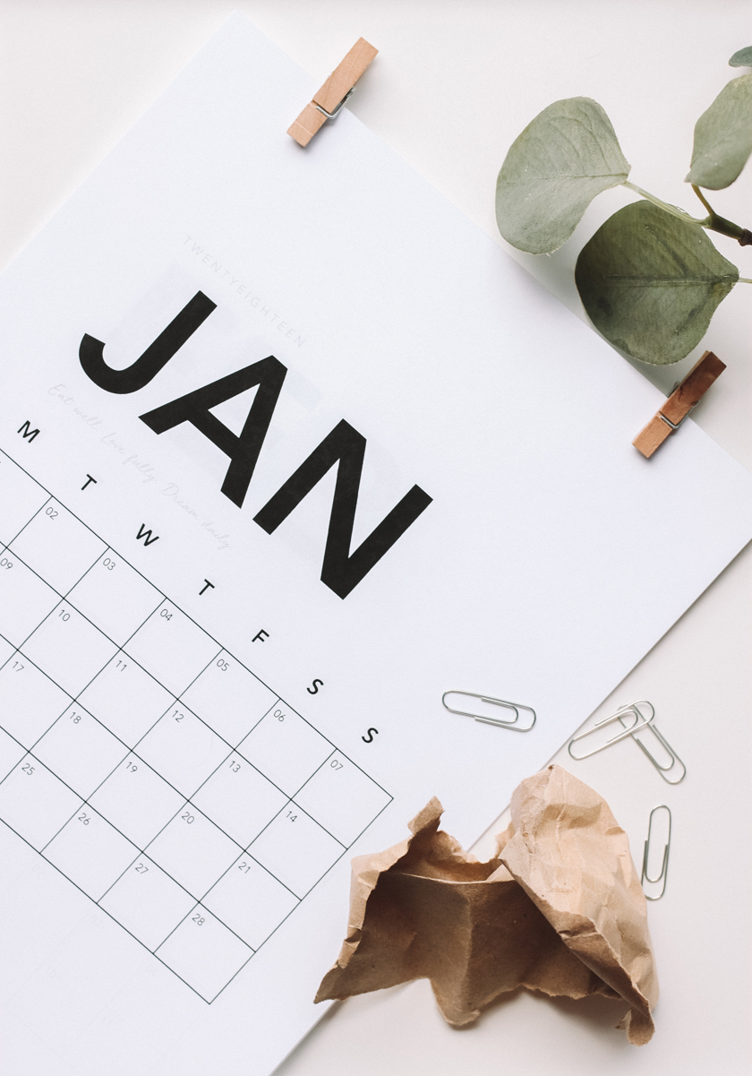 How to save money - make a list of yearly expenses month by month