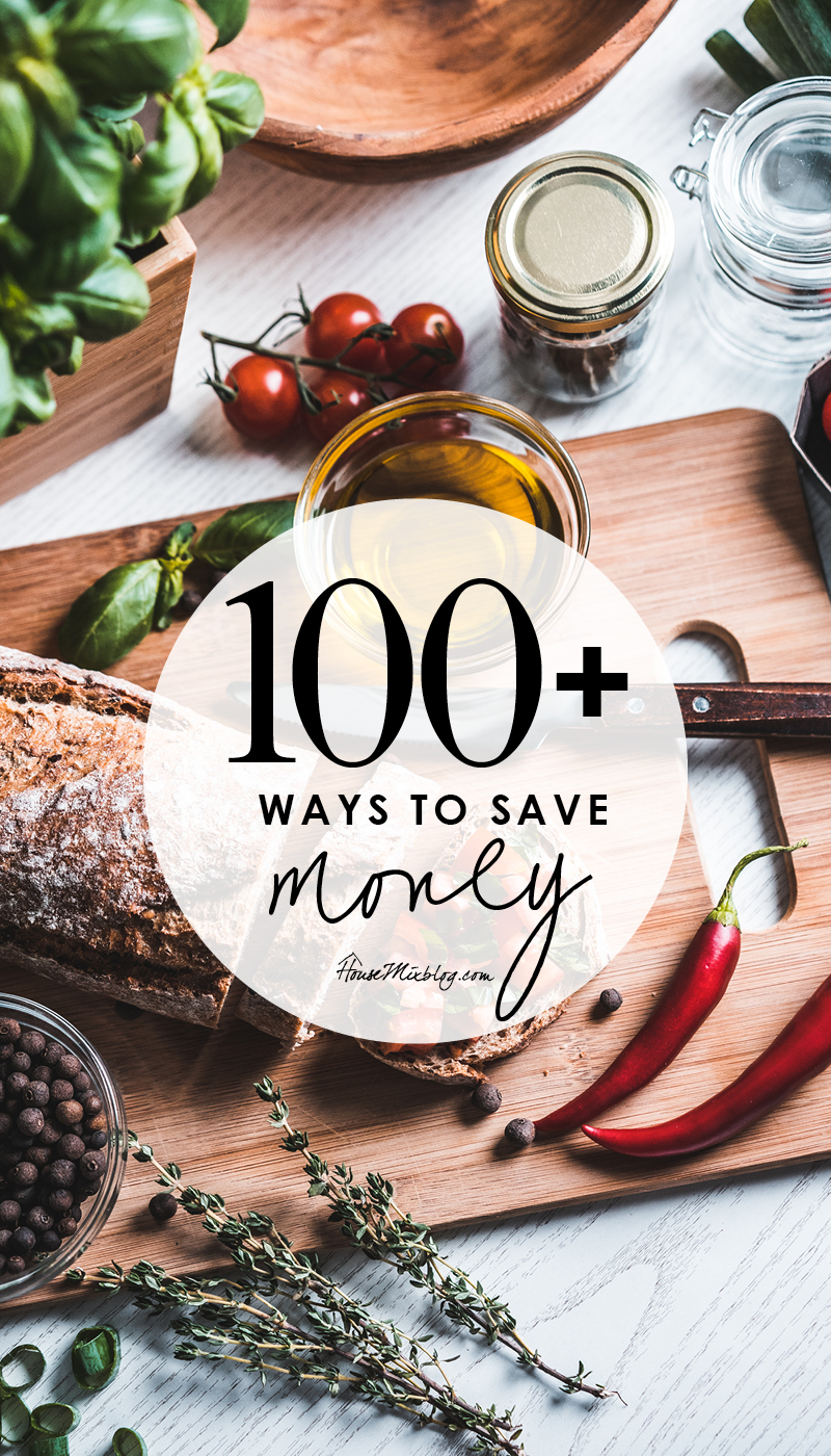 More than 100 ways to start saving money - a comprehensive guide to living frugally and happily