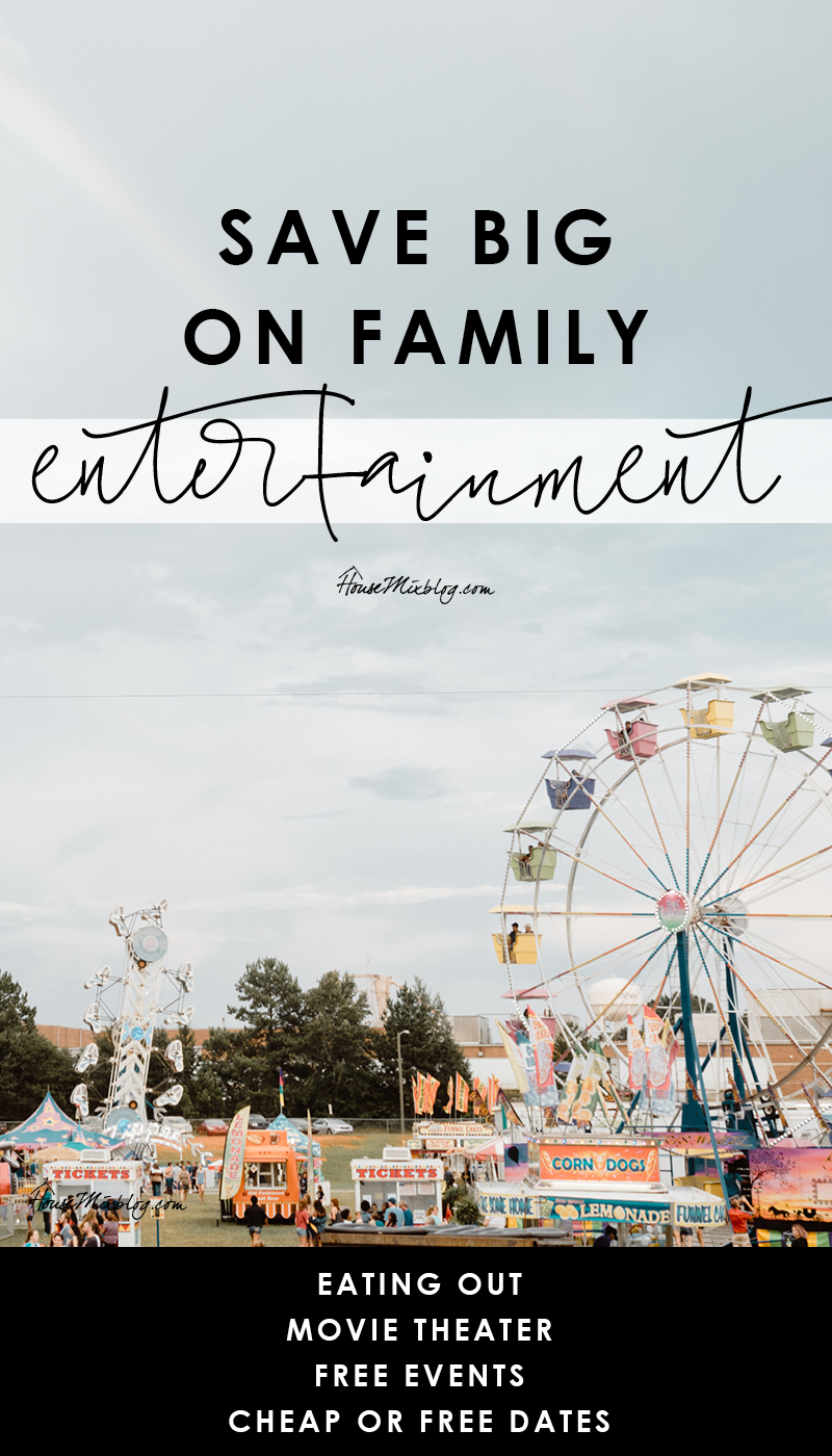 Save big on family entertainment - eating out - movie theater discounts - free events - cheap or free dates
