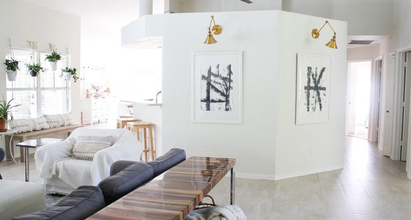 Simple modern black and white art