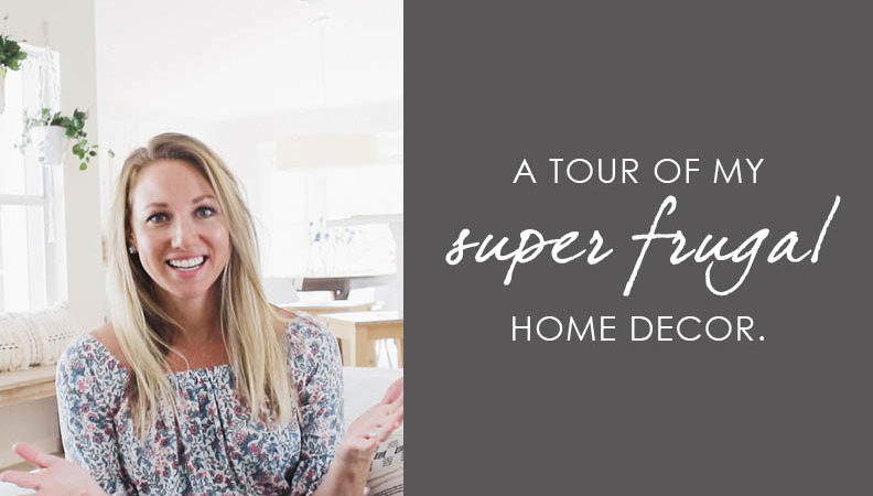 a tour of my super frugal home decor4