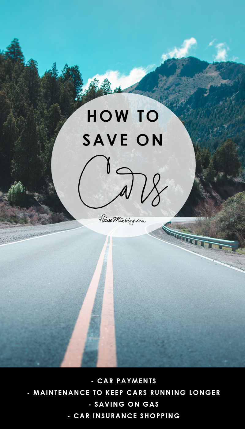 How to save money on cars
