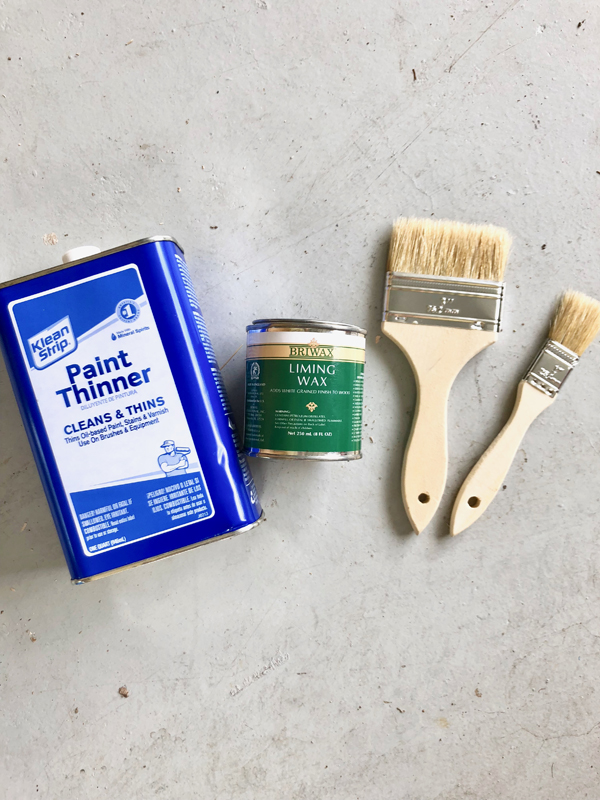 How to use liming wax - rustic look, bleached wood, lighten wood