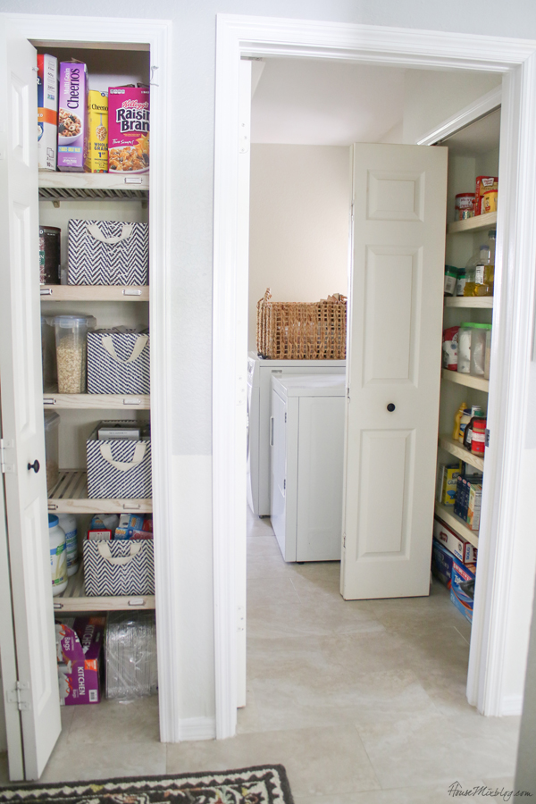Pantry organization and food storage ideas