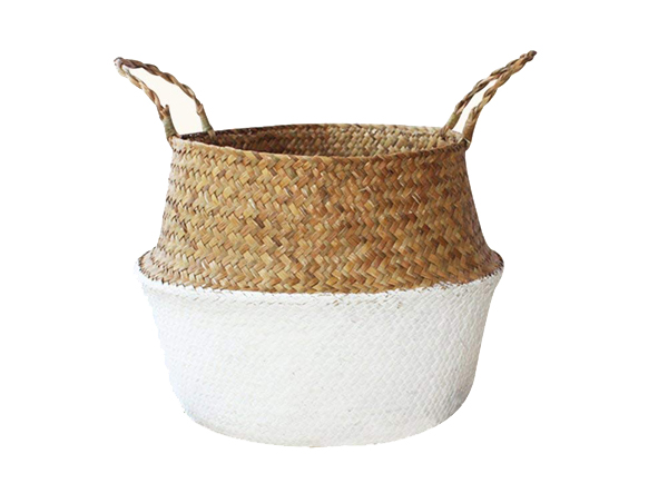 inexpensive seagrass basket