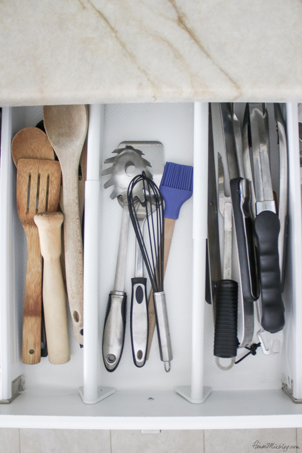kitchen organization ideas - drawer dividers