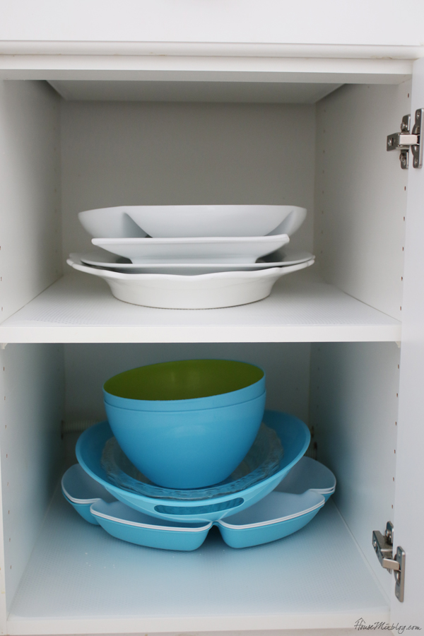 kitchen storage ideas - platters
