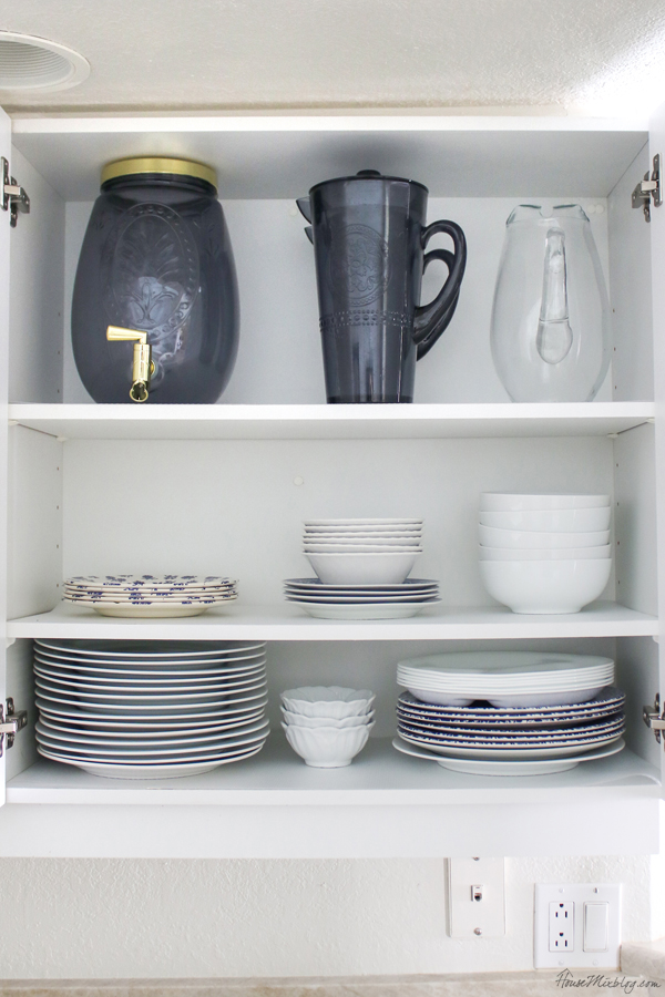 organizing ideas for the kitchen - dishes