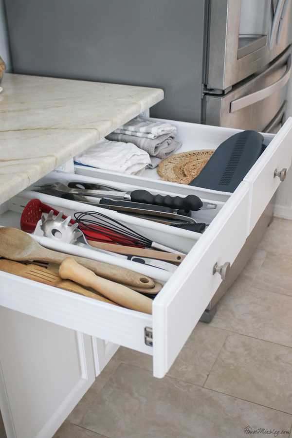 utensil drawer kitchen organization