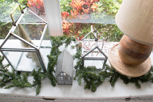 neutral christmas decor - Hearth and hand houses