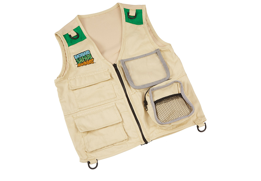 7 year old gift and toy ideas - safari vest