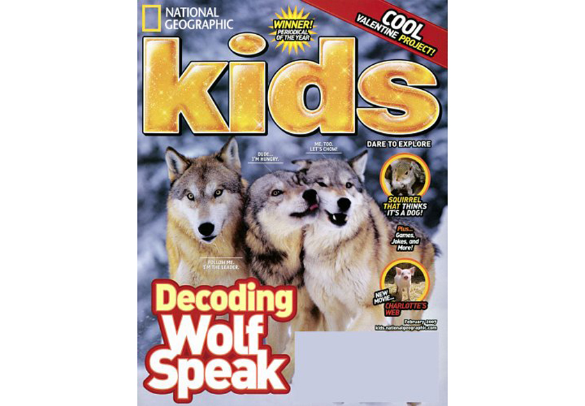 National Geographic Kids magazine subsription - books for 7 year old boys